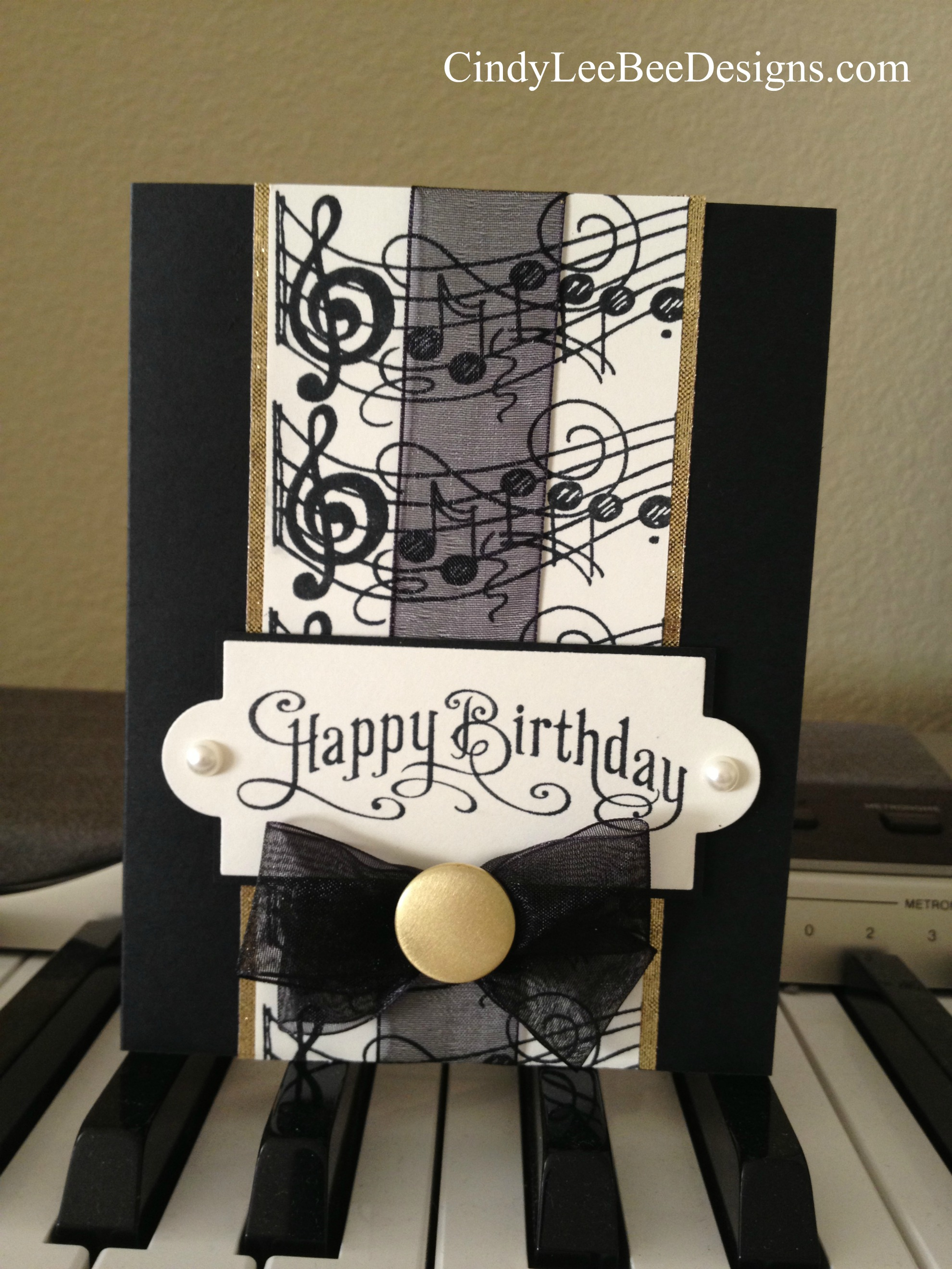 A musical birthday – Musical Cards for Birthday