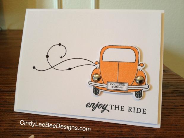 PTI Enjoy the Ride Orange Bug