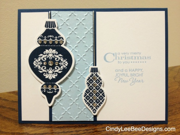 SU Keepsake Ornaments Blues