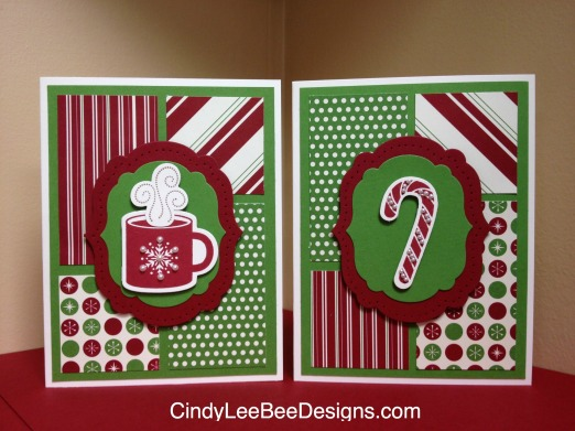 SU Scentsational Christmas cupcandy cane