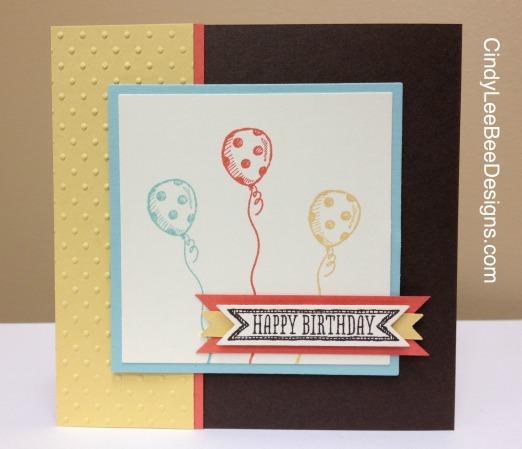 SU Sketched Birthday Balloons