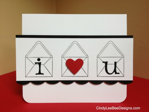I love you Envelopes