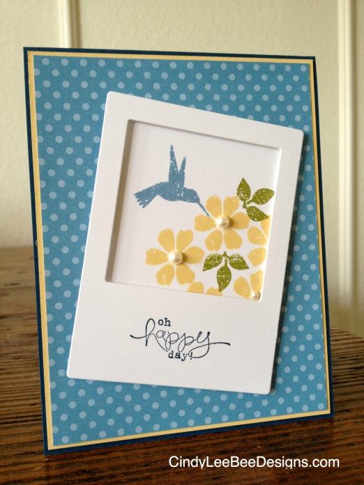 SU Bloomin' Marvelous Polaroid Angled