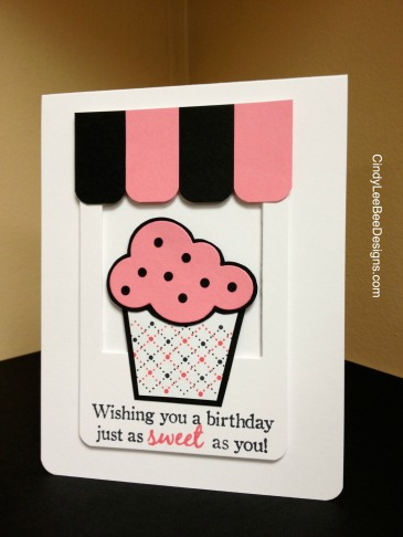 PTI Sweet One cupcake