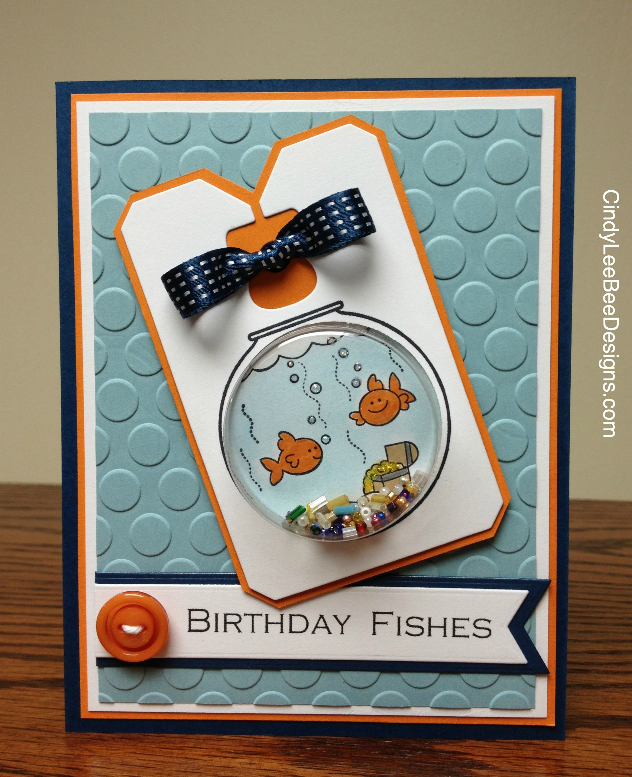 Stampin Up Birthday Cards For Kids ~ Su fishin around for the kids cindy lee bee designs