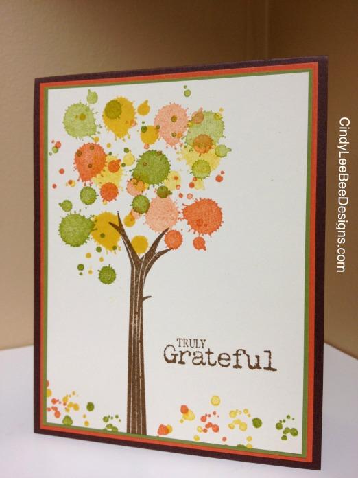 SU! Gorgeous Grunge Autumn Tree