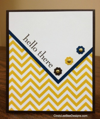 SU Positively Chevron and Happy Day Front