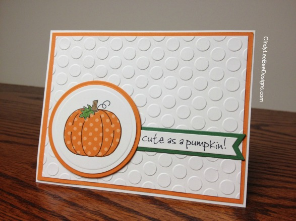 Pumpkin Paper Pieced