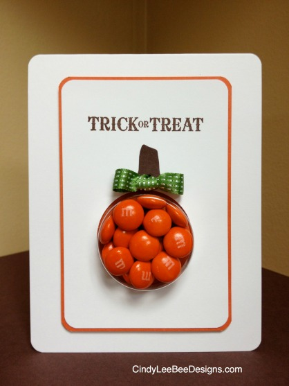 SU Toxic Treats Pumpkin Treat Cup