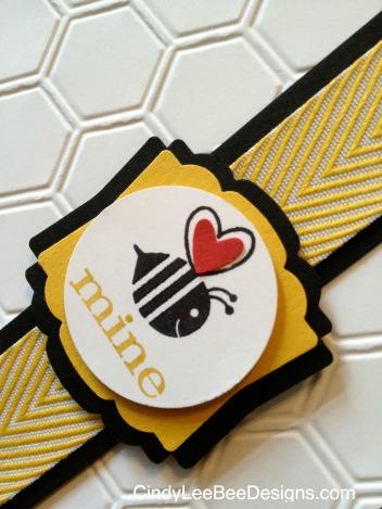 SU Crazy Mixed Up Love Bee Close-Up