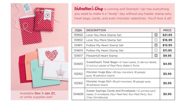 valentines prices