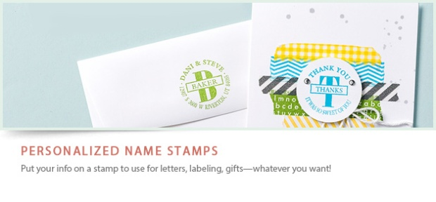 Personalized Stamps header