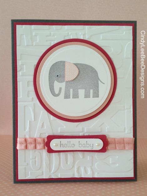 SU Zoo Babies Elephant