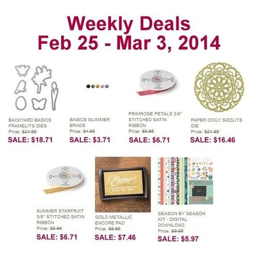 weekly deals now