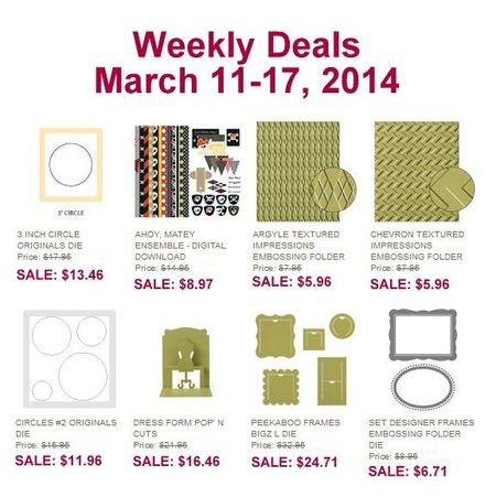 weekly deal march 17