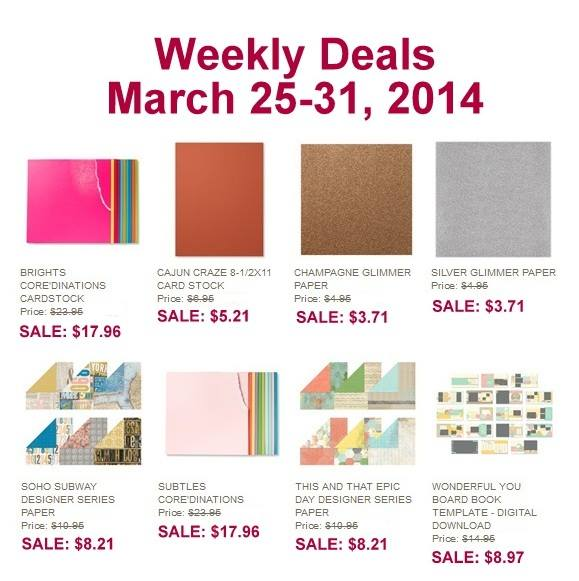 weekly deals march 31