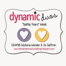 Dynamic Duos so saffron wisteria wonder