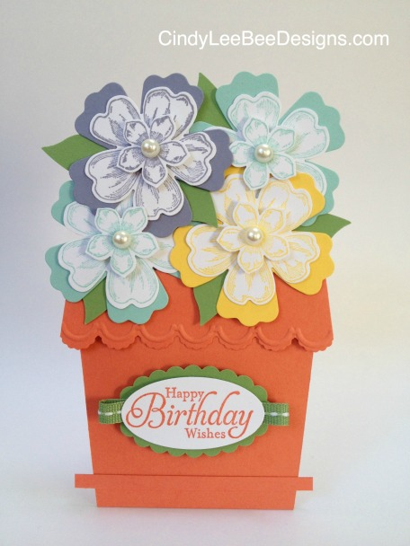 SU Flower Pot Card FM1