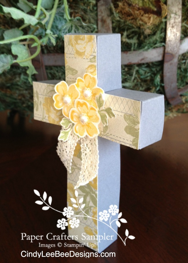 paper crafters sampler easter cross templates
