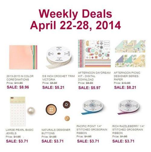 weekly deals ret