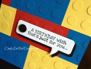 SU Remembering Your Birthday Legos Close Up