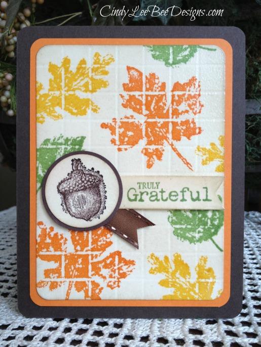 SU Gently Falling with SU Truly Grateful