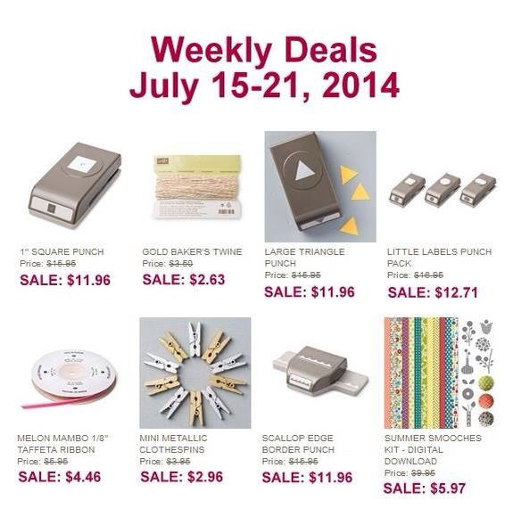 weeky deals july 15
