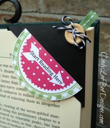 SU Kind and Cozy Watermelon Bookmark