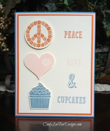 Peace Love and Cupcakes CM2