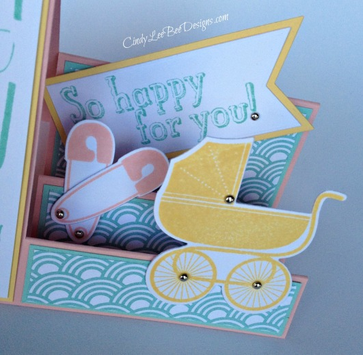 SU Bravo for Baby Side Step Card Close-Up!