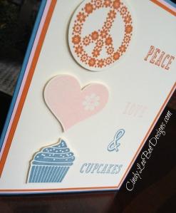 SU Peace Love and Cupcakes Close Up
