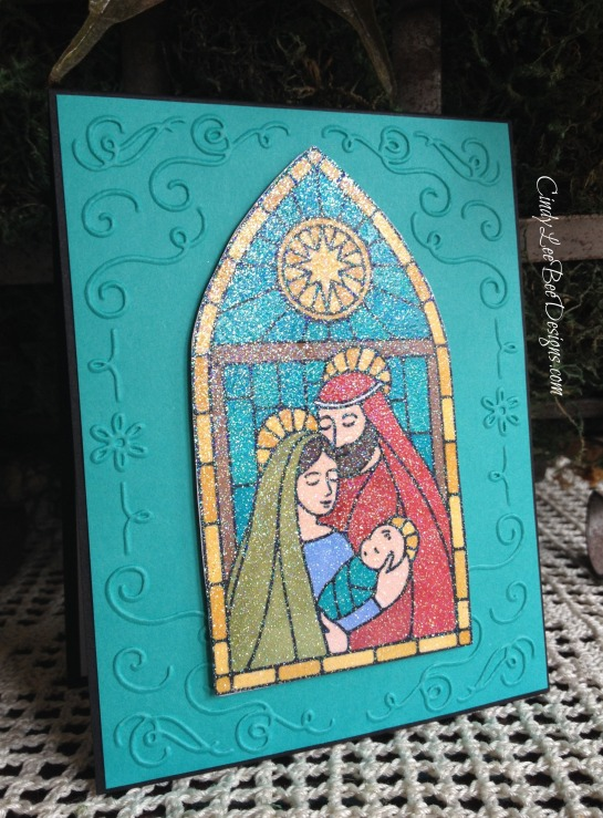 SU Gentle Peace with Filigree Frame