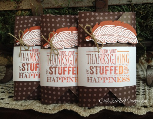 SU Mingle All the Way Thanksgiving Favors