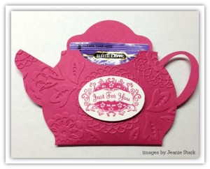 tea pot favor