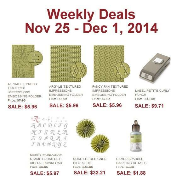 weekly deals nov 25-dec 1