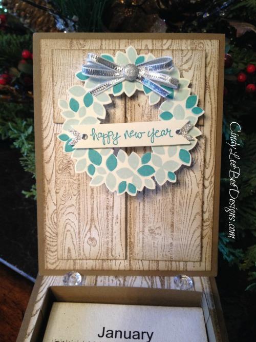 SU Wondrous Wreath January