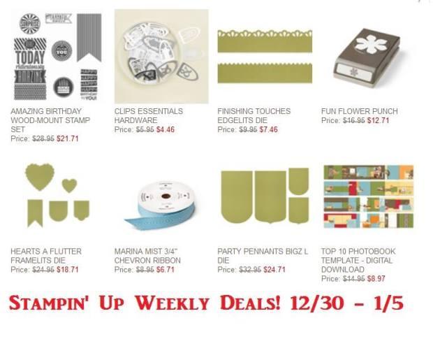 Weekly Deals 12:30
