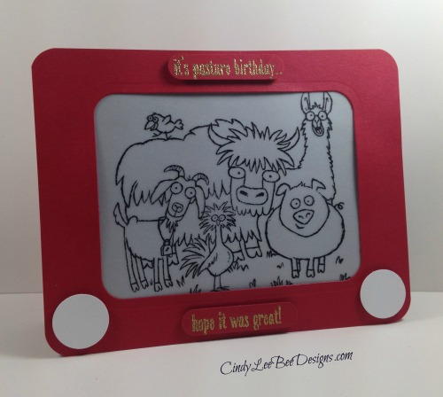 SU From the Herd Etch a Sketch