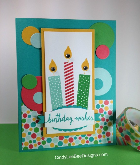 SU Build a Birthday Washi PP