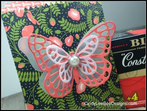 SU Mini Treat Bag close up Butterfly