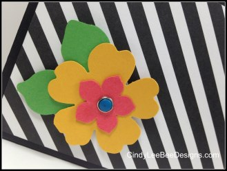 SU Pansy Flower on File Box