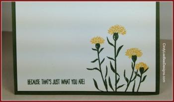 SU Wild About Flowers Brick Wall inside