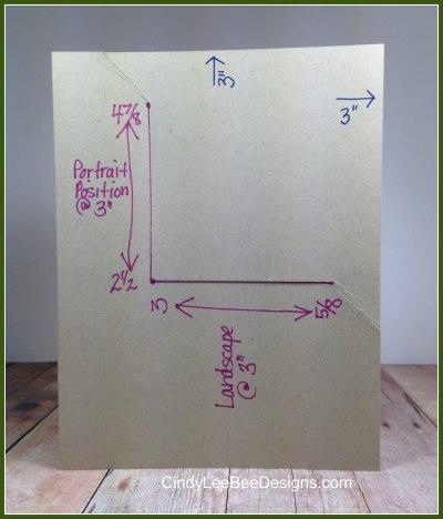 Corner Fold Template