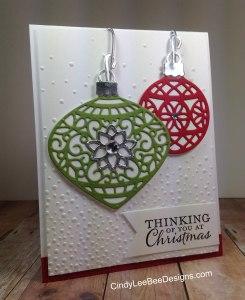 SU Delicate Ornament Thinlits Die