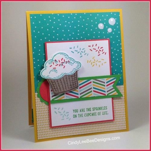 SU Sprinkles of Life Cupcake MOJO