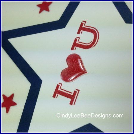 SU Pictogram Punches Star Card Inside close up