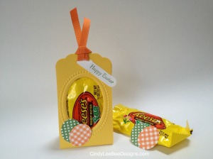 SU Scallop Tag Reese's Easter Favors