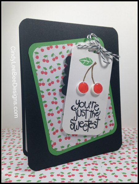 SU Apple of my Eye Cherries on tag black