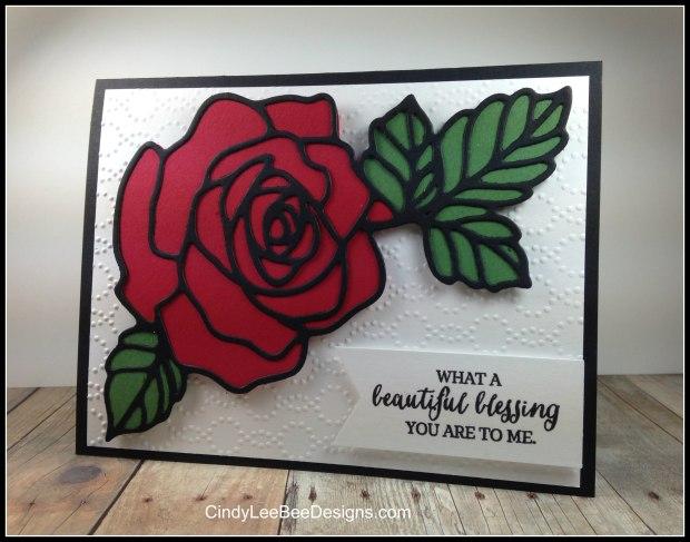 SU Rose Garden RedGreen Underlay