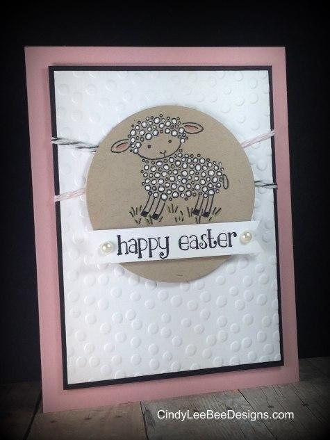 SU Easter Lamb White Pen